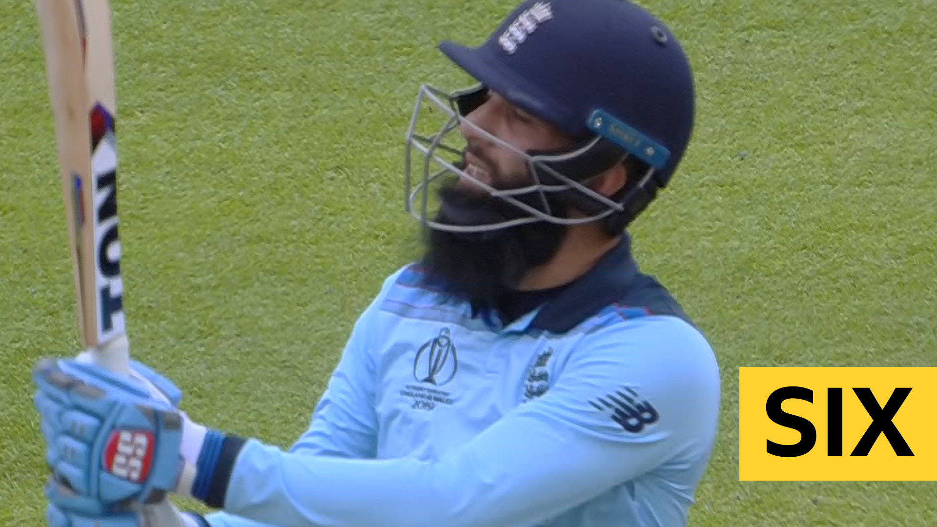 Two quickfire sixes from Moeen give England the record for most sixes is an ODI innings