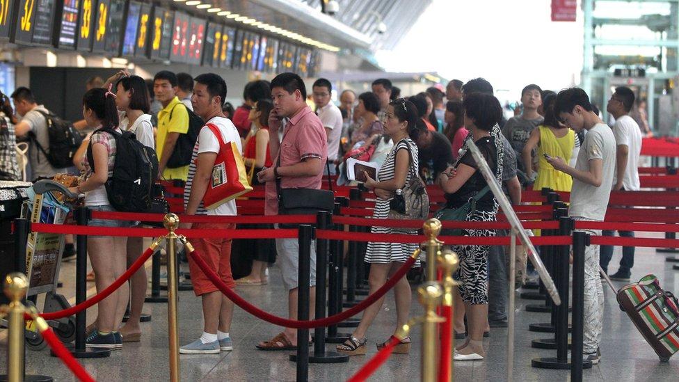 El número de chinos que viajan a destinos internacionales ha crecido de forma incesante en los últimos años.