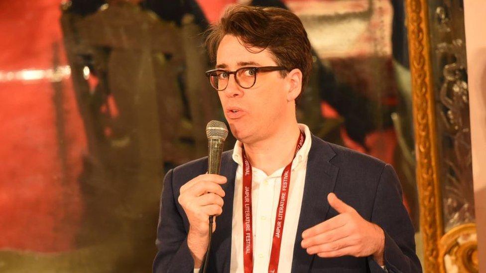 El escritor Benjamin Moser.