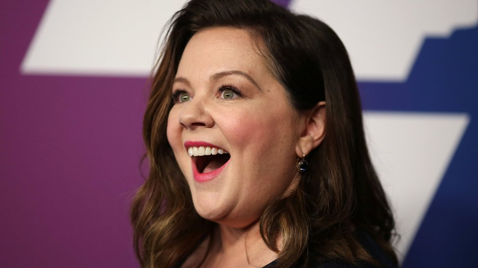 Melissa McCarthy at the Oscar nominees' luncheon