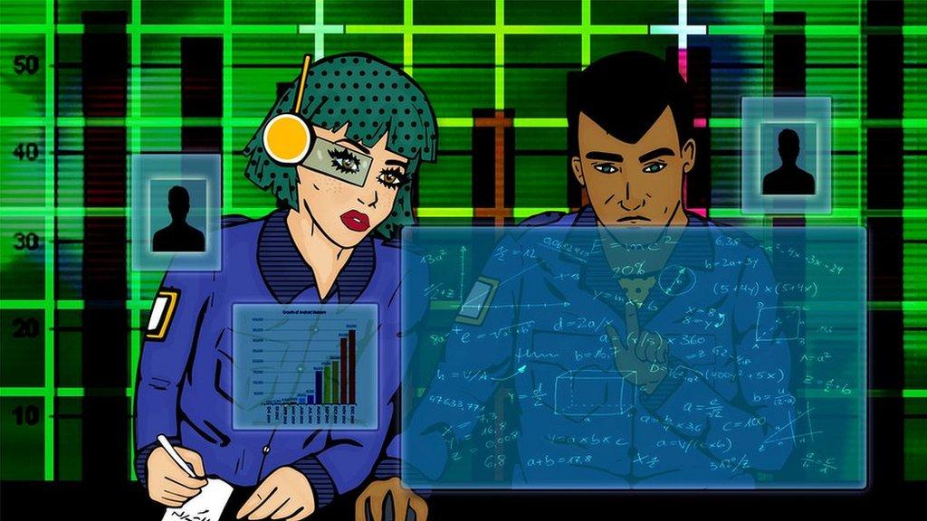 Illustration of cyber-incident responders
