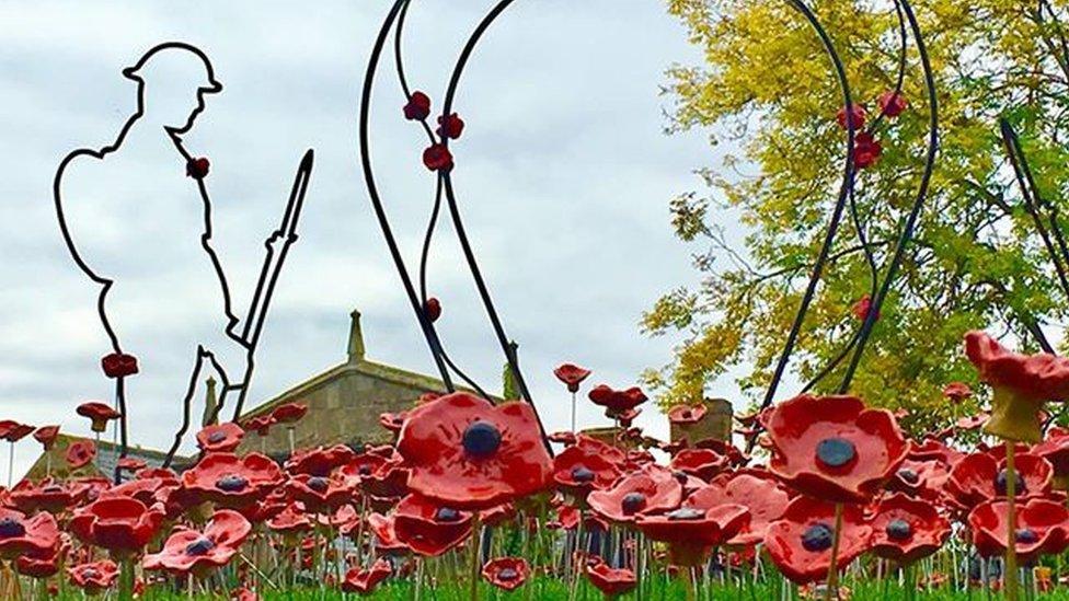 Prince Harry 'proud' of Rutland's poppy WW1 tribute