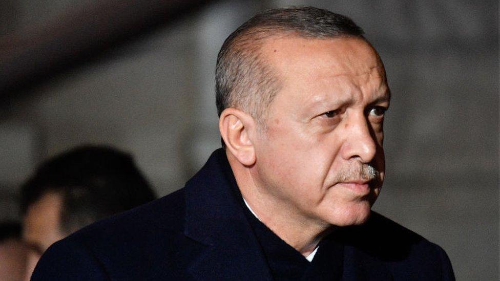 الرئيس التركي رجب طيب اوردغان