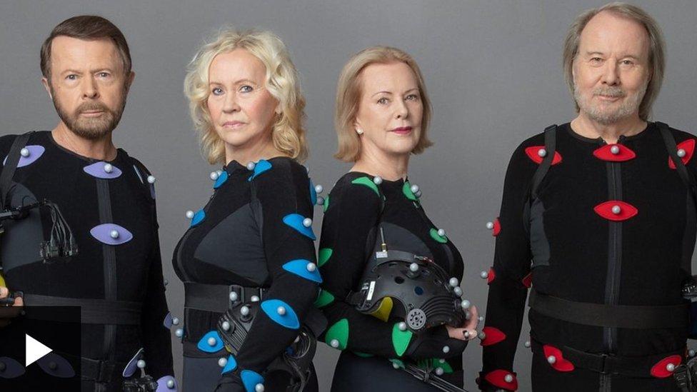 أعضاء فرقة ABBA