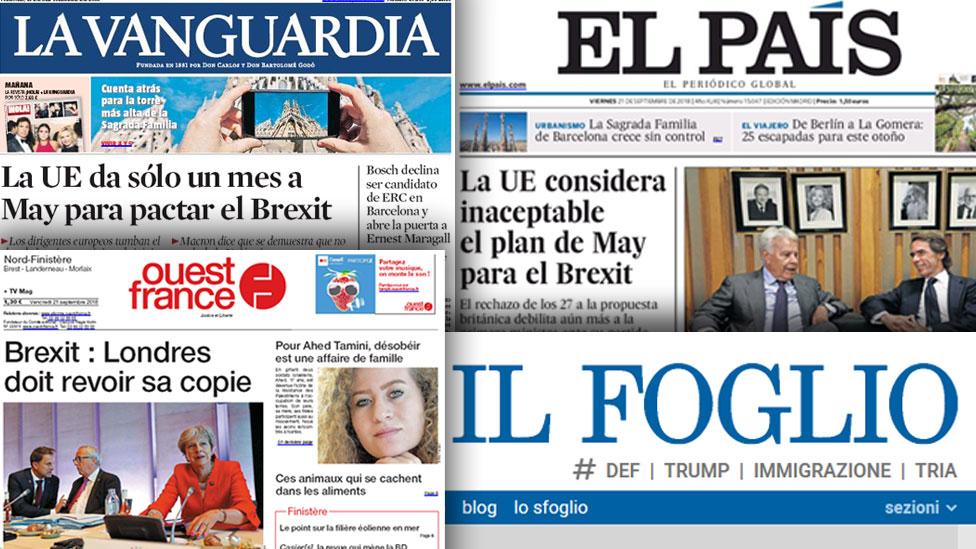 European press views May 'ambush' with sympathy