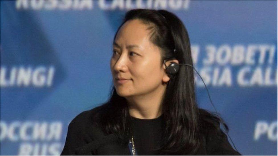 منغ وانزو ، ابنة مؤسس الشركة العملاقة