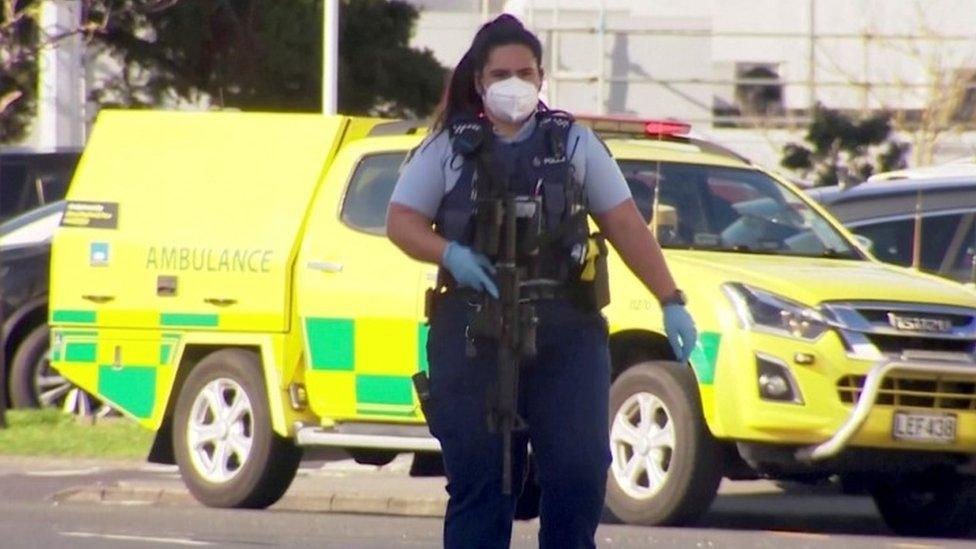 الشرطة النيوزلندية