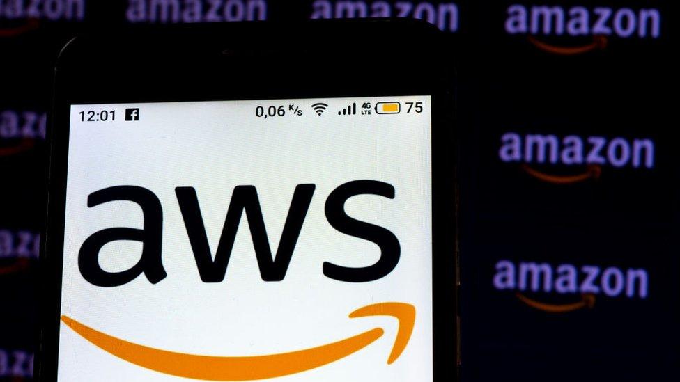 Logo de Amazon Web Services