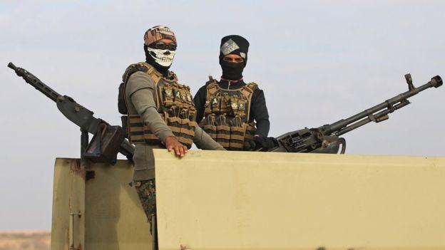 para militer di Irak