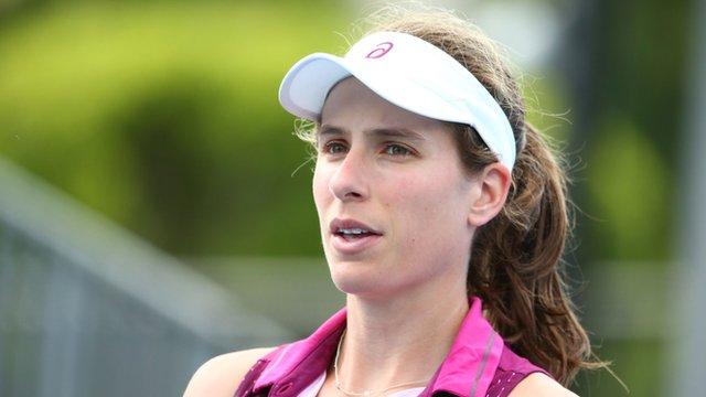 Australian Open: Johanna Konta aims to continue historic form