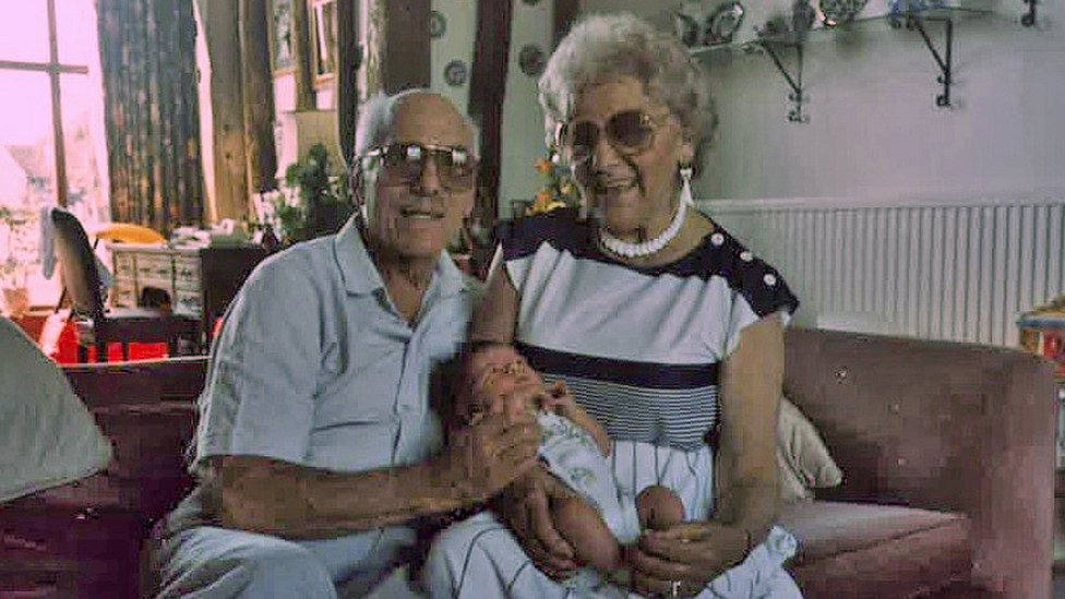 Leonard Harris and Gertrude Harris