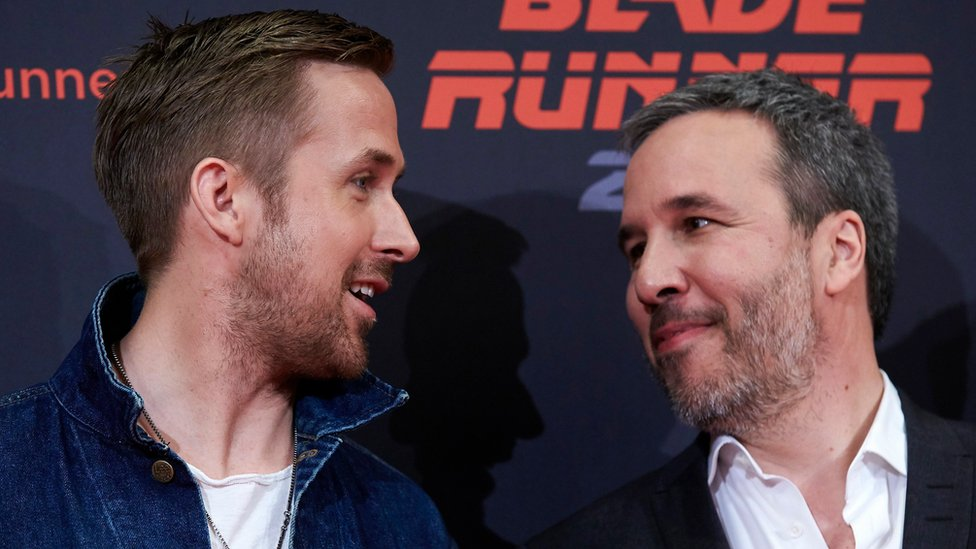 Denis Villeneuve and Ryan Gosling