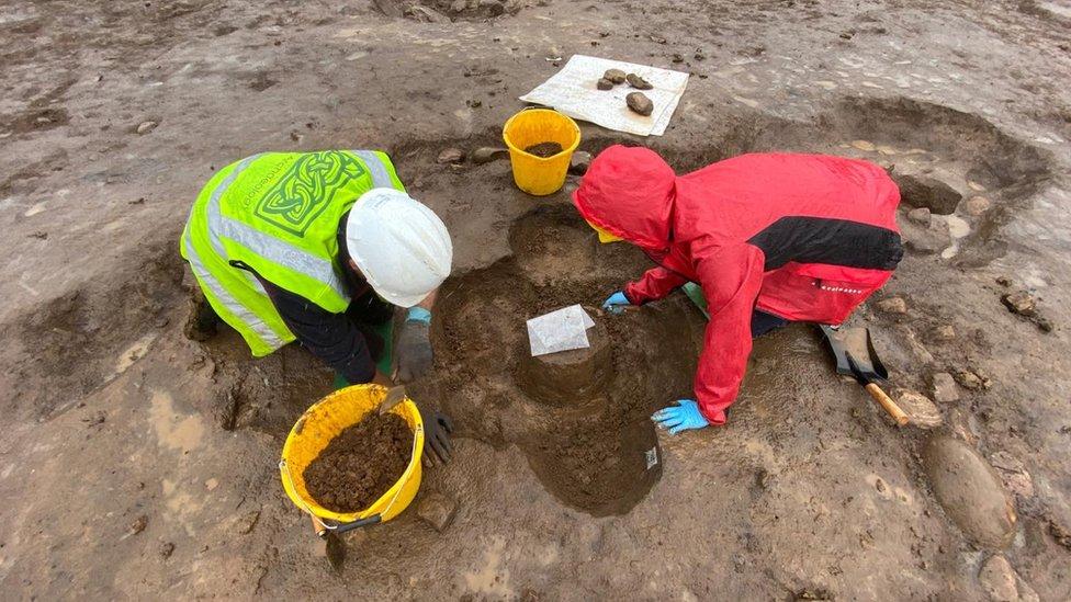 excavation at Ballyshannon