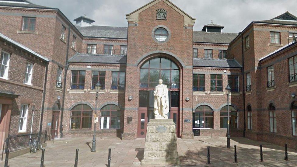 Carlisle pair jailed for one-night city crime spree
