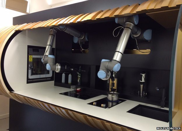 Robot kitchen