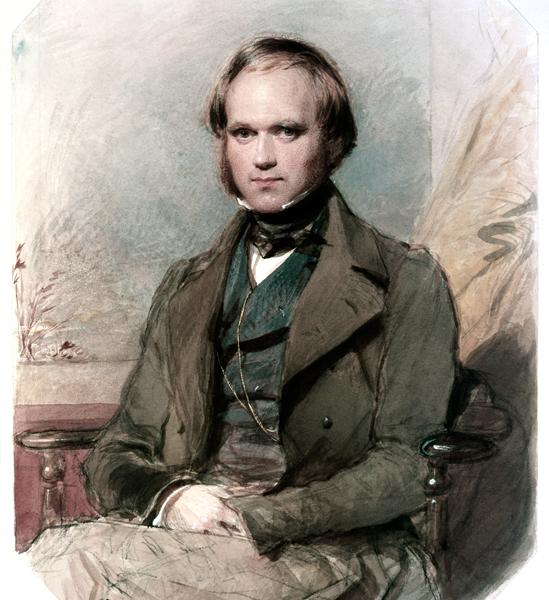 Charles Darwin en su juventud