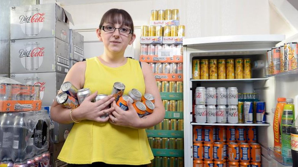 'My 3,000 calorie-a-day addiction to energy drinks rules my life'