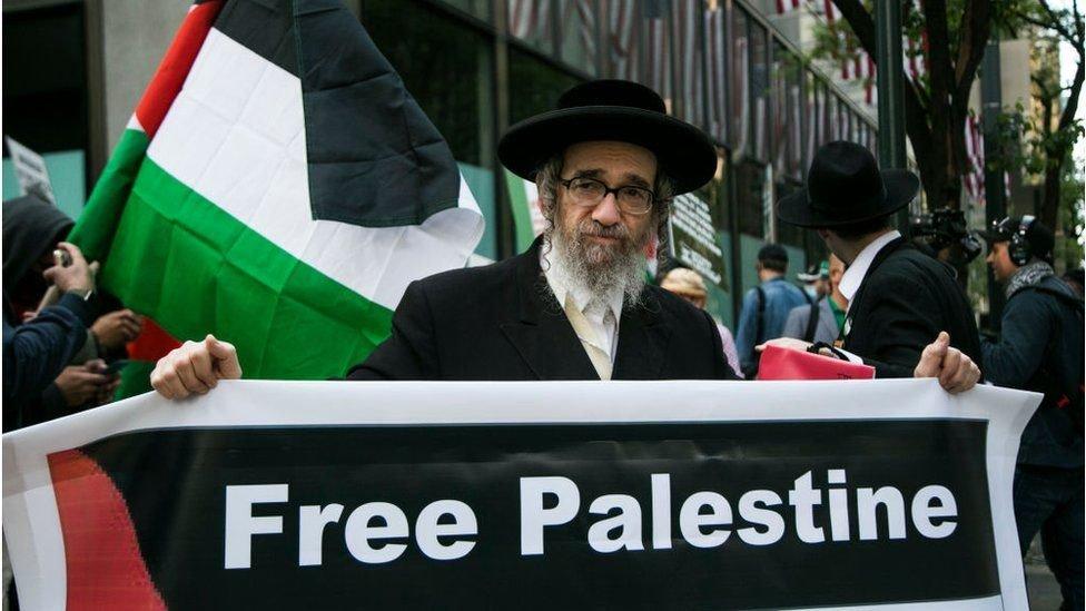 يدعم بعض اليهود الأرثوذكس في نيويورك بقوة الحقوق الفلسطينية