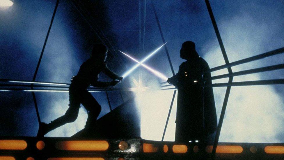 """Fotograma de """"La guerra de las galaxias"""""""