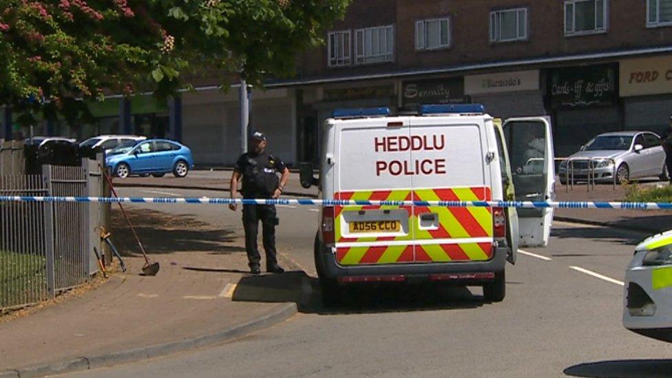 Extra police patrols continue after Llanrumney stabbing