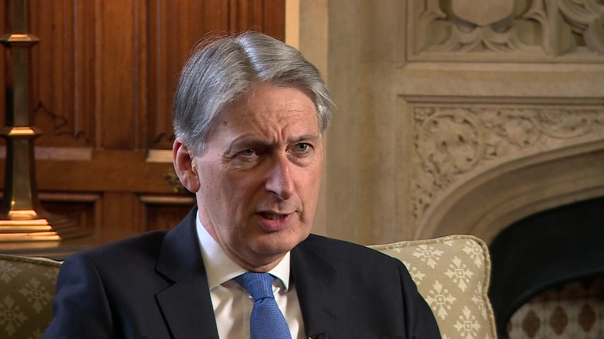 Philip Hammond hints at 'headroom' for more NHS spending