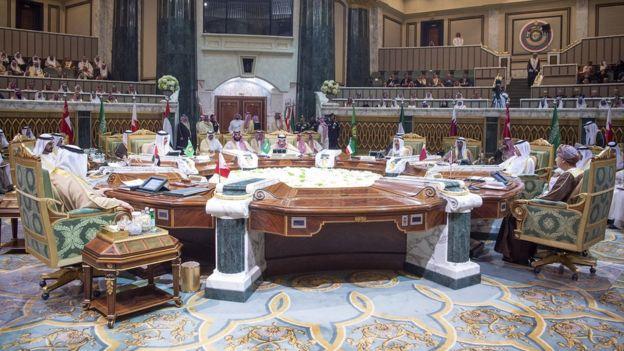 القمة الخليجية بدون قطر