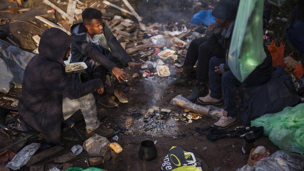 Migrantski kamp u Kaleu