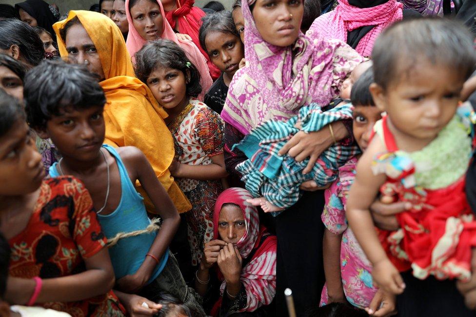 نزح نحو 700 ألف من مسلمي الروهينجا منذ أغسطس/ آب