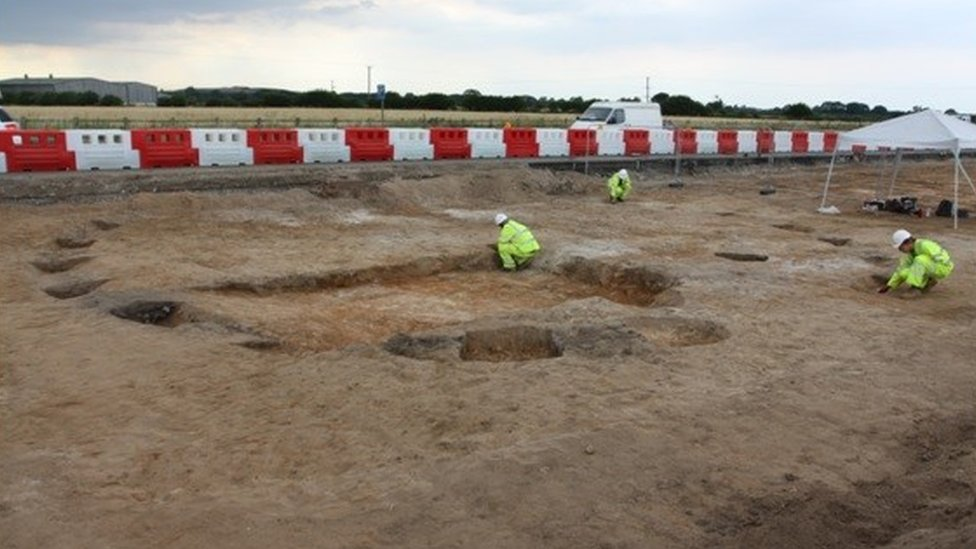 Iron Age village found near roundabout on York ring road