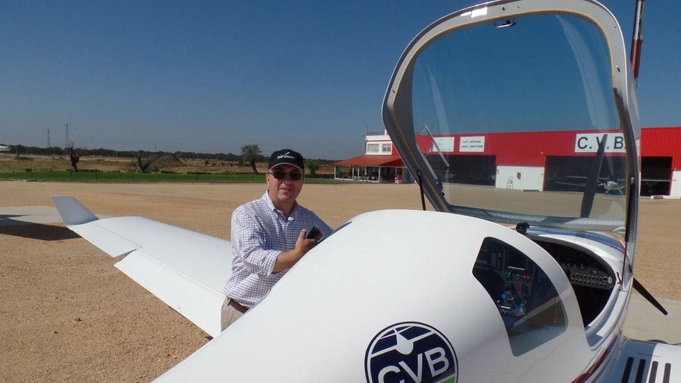Paulo Girbal, co-founder and pilot
