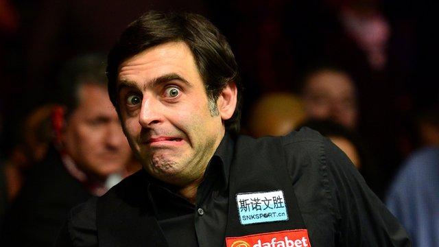 Snooker's finest on Ronnie O'Sullivan