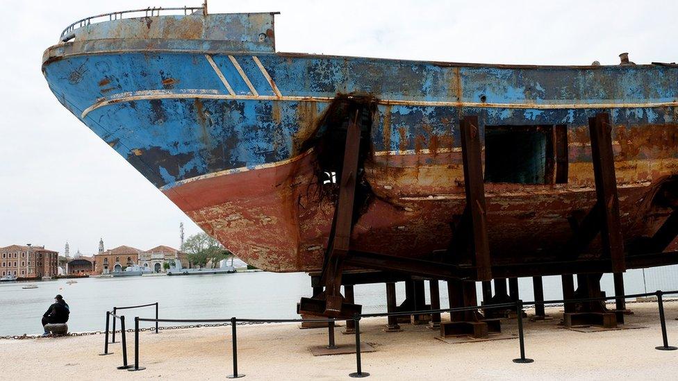 El barco mostrado.