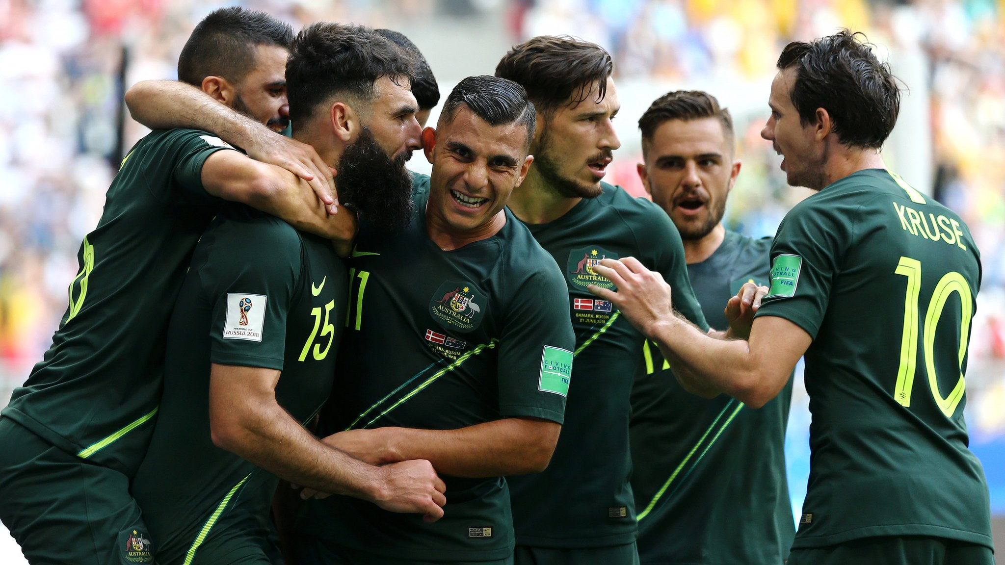 World Cup 2018: Denmark 1-1 Australia