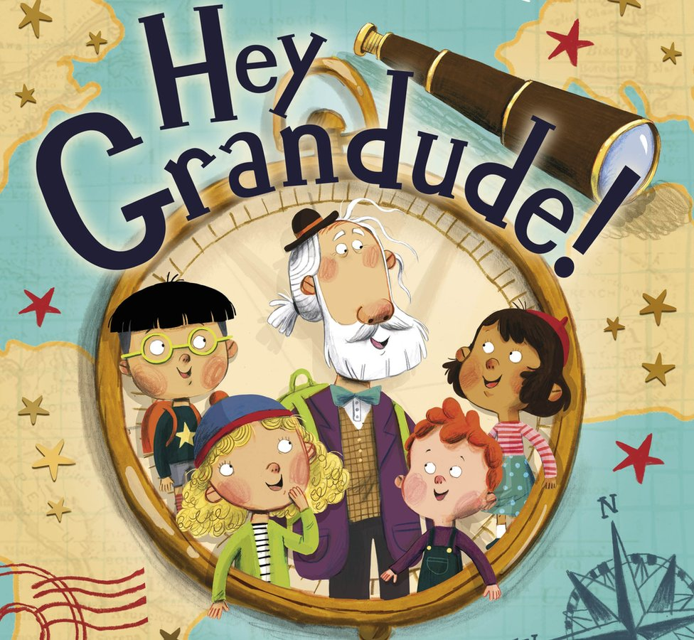 Cover of Hey Grandude!