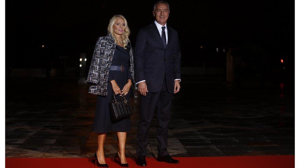 Lidija i Milo Đukanović, 11. novembar 2018.