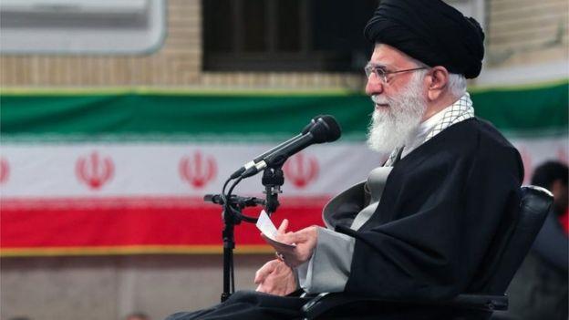 المرشد الأعلى للجمهورية الإسلامية علي خامنئي