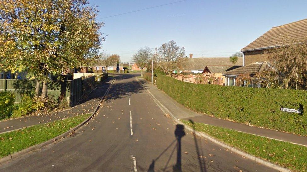 Fourways, in Tetney, near Grimsby, Lincolnshire