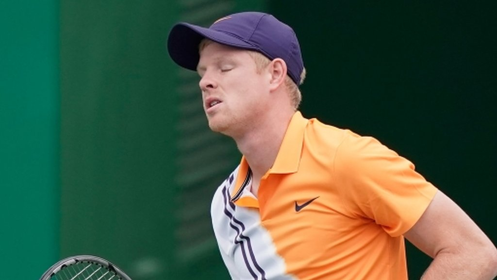 Shanghai Masters: Kyle Edmund beaten by Alexander Zverev in quarter-finals