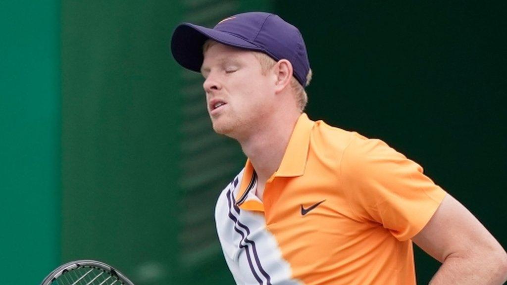 Shanghai Masters: Kyle Edmund beaten by Alexander Zverev in quarter-finals