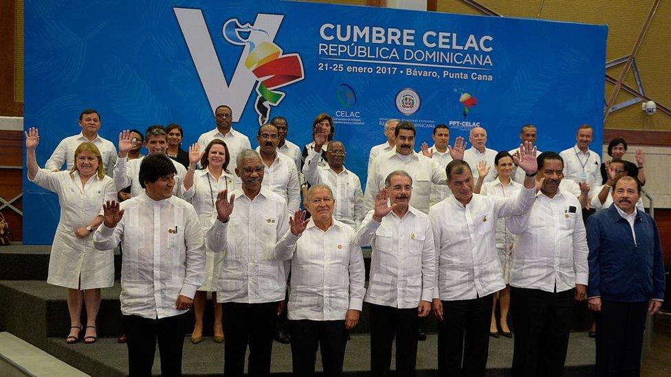 Cumbre de la Celac en 2017.