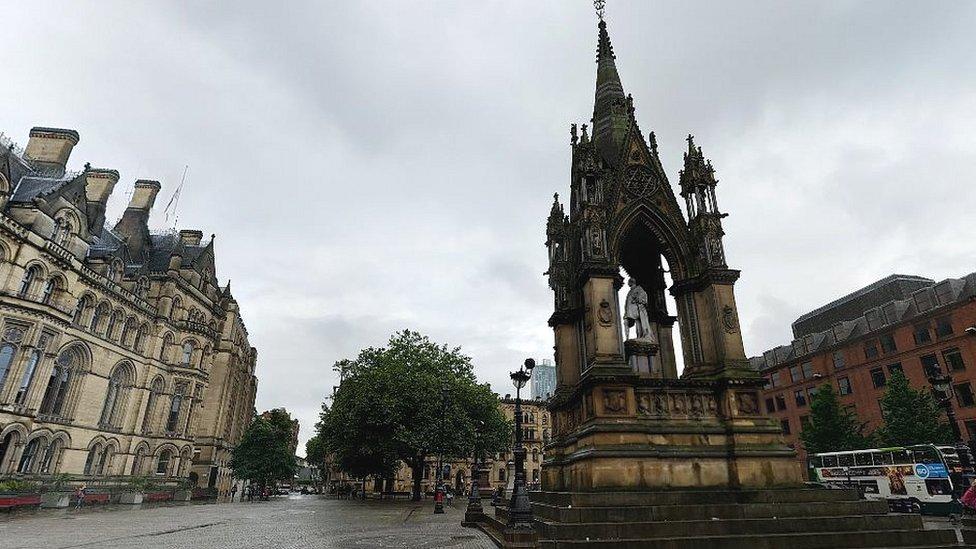 Albert Memorial in Manchester