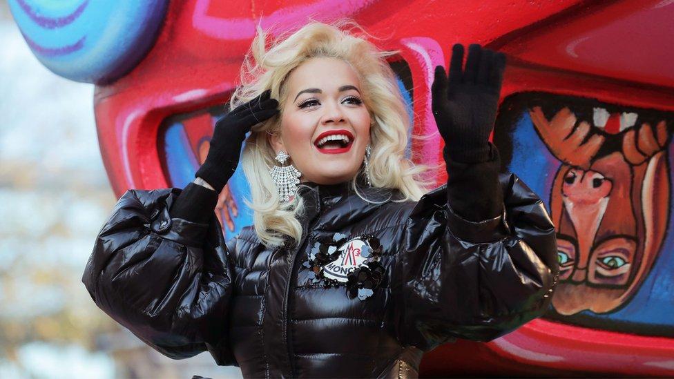 Rita Ora na paradi na Menhetnu