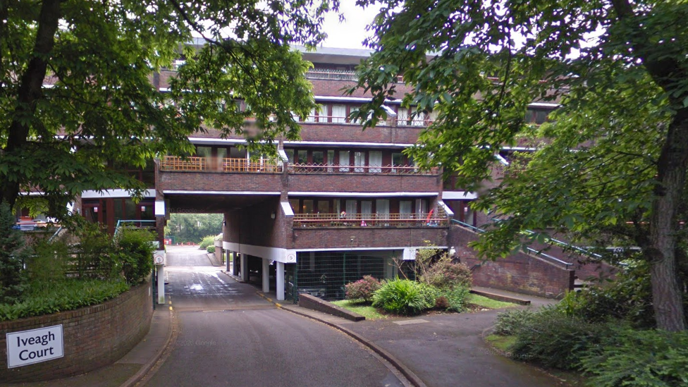 Iveagh Court in Nightingale Crescent, Bracknell