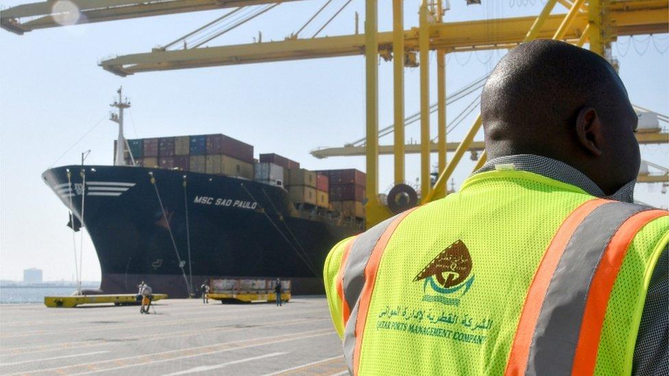 El nuevo puerto de Hamad ha sido fundamental para vencer el bloqueo.