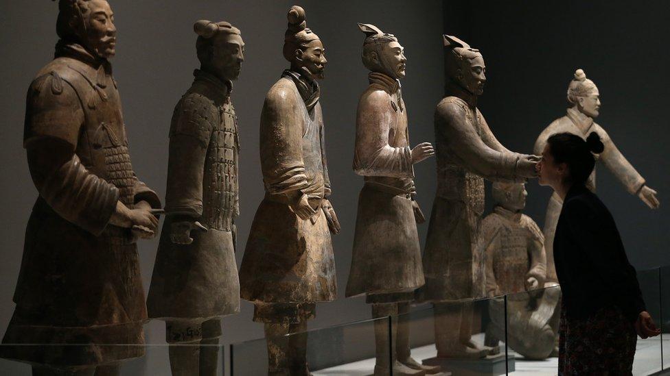Terracotta Warriors at Liverpool's World Museum