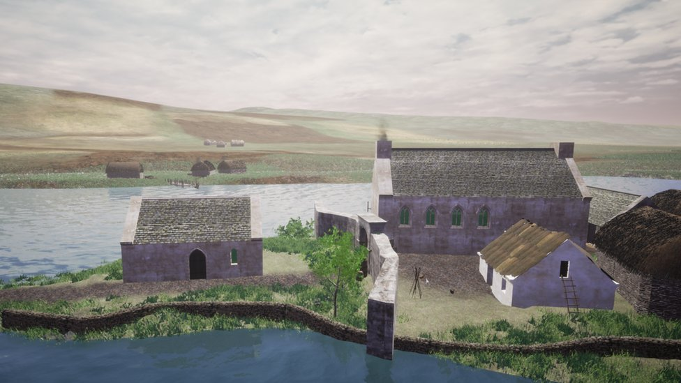 Lord of the Isles' medieval home in Islay recreated
