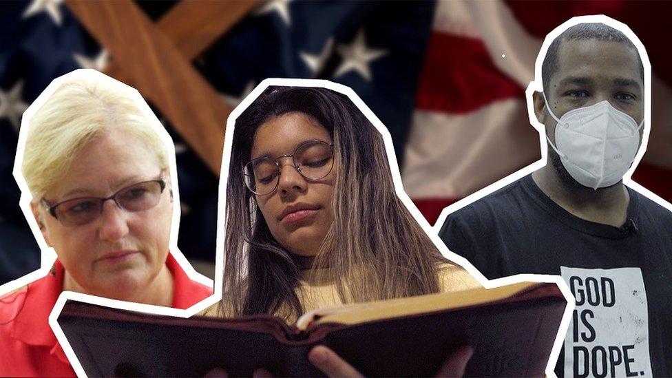 ثلاثة أرباع الناخبين في أمريكا مسيحيون.