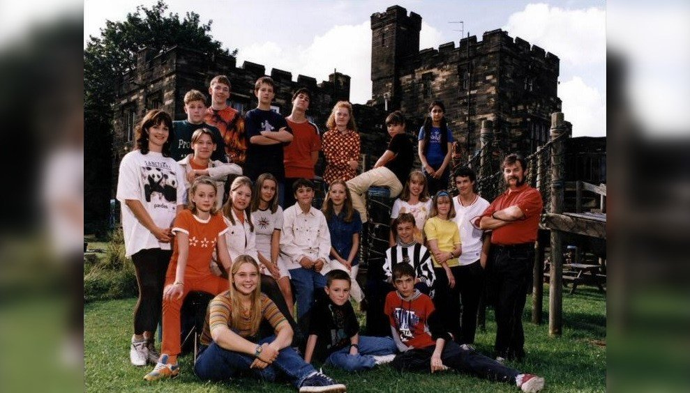 The cast of Byker Grove series 8