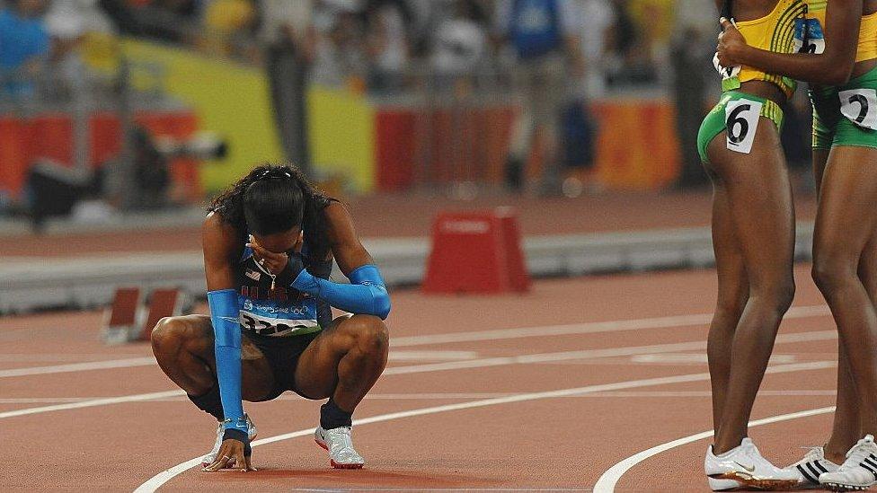 Sanya Richards-Ross at Beijing 2008