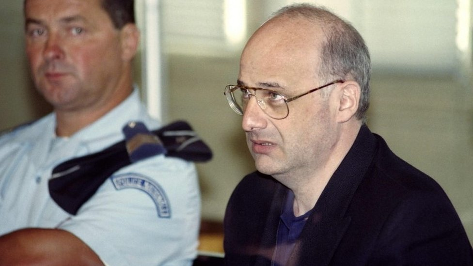 Jean-Claude Romand at this trial in 1996